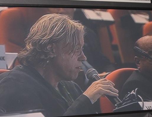 sir Bob Geldof.